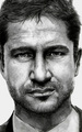 Gerard Butler Drawing - gerard-butler fan art