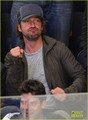 Gerard Butler: New York Rangers Game! - gerard-butler photo