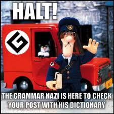 Grammar Nazism