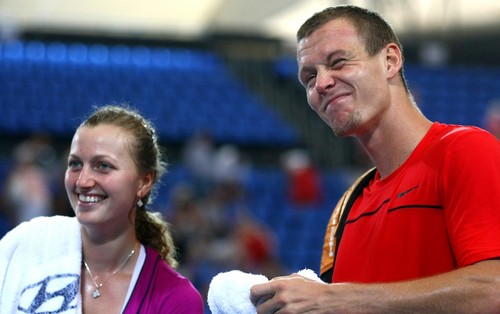 Great new gallery of pics from день 4 » Kvitova, Berdych