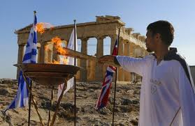 Greece-Olympic Flame 2012