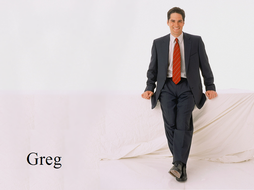 Dharma & Greg wallpaper containing a business suit, a suit, and a well dressed person entitled Greg