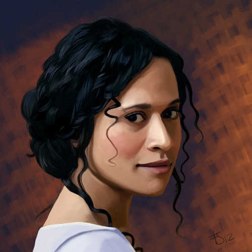 Guinevere Portrait: Finished