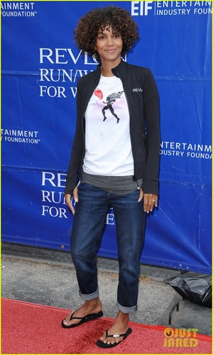 Halle Berry: Revlon Walk Hostess