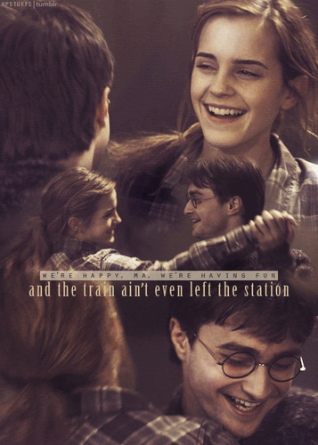 Harry and Hermione wallpaper called Harmony