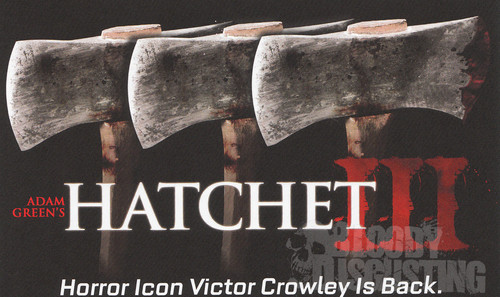 Horror Movies wallpaper containing a cleaver, a hatchet, and a tomahawk called Hatchet 3