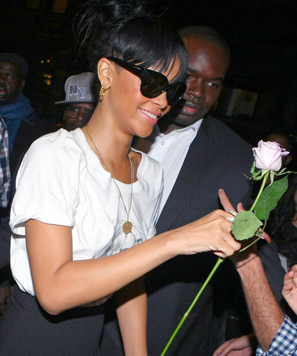 Heading To Catch Restaurant In NYC [14 May 2012]