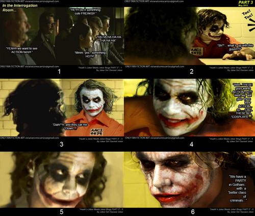 Heath`s Joker meets The Joker Blogs / PART 2 - 3