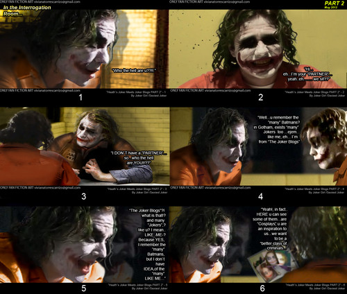 Heath`s Joker meets The Joker Blogs / PART 2 - 3 - the-joker Fan Art
