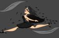 Heather-Black swan take over - total-drama-island fan art