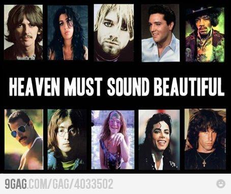 Heaven must sound beautiful :)