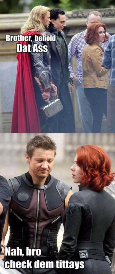 Hilarious Avengers Movie Pics