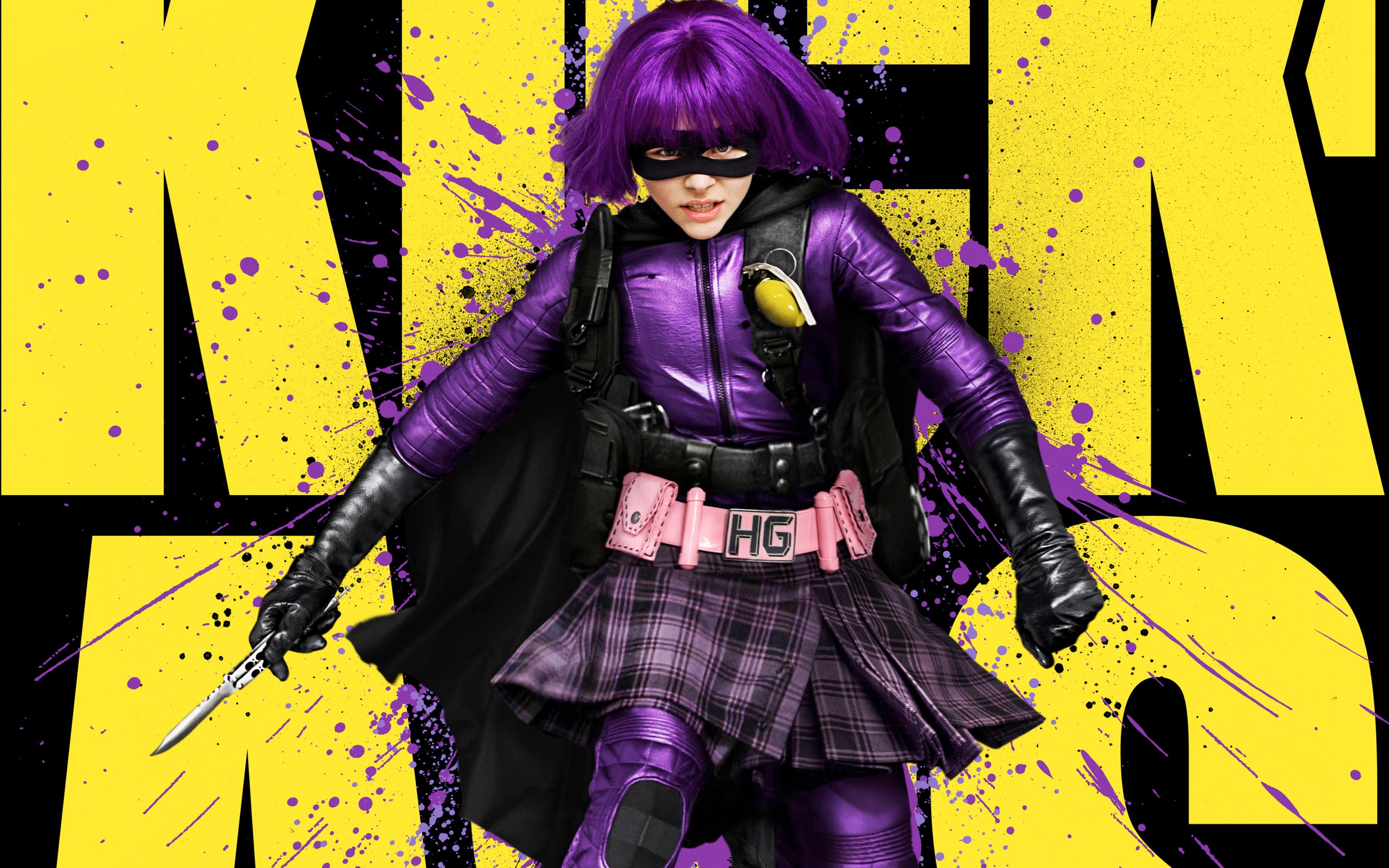 Can not Kick ass and hit girl nude