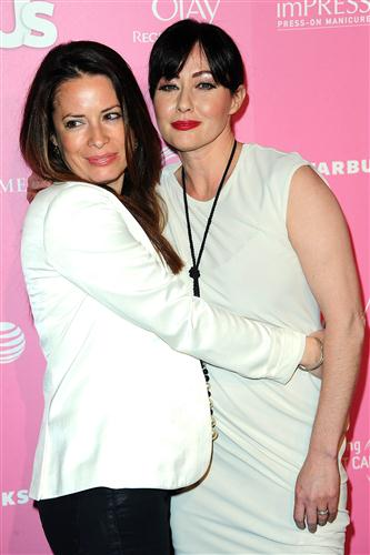 holly and Shannen - Us Weekly's Hot Hollywood 2012 Style Issue Event, April 18, 2012