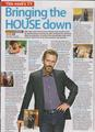 House MD- Scans of -House Total TV Guide dated 19-25 may 2012  - house-md photo
