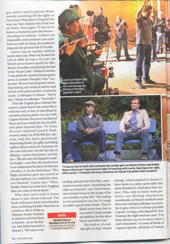 House MD- TVGuide Scans May 2012 (spoliers)