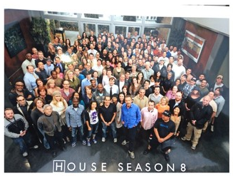 Hugh Laurie- House MD- Cast Photo Season8