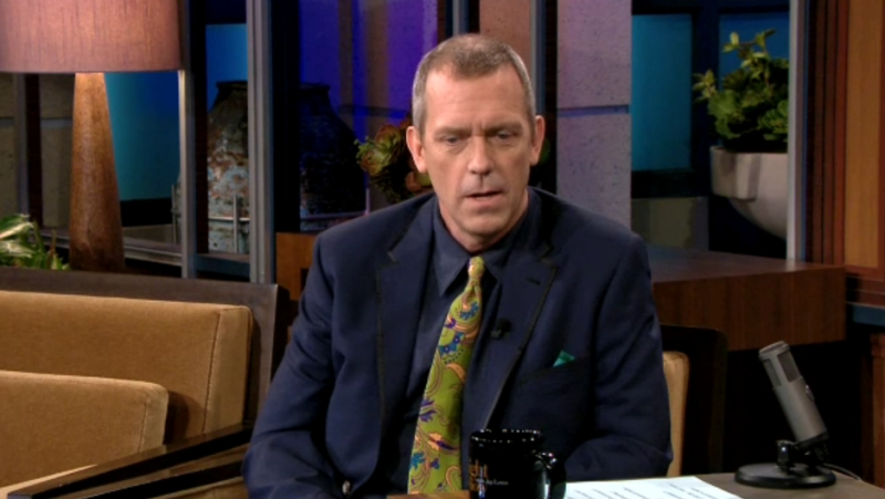 Hugh Laurie -The Tonight Show 17.05.2012