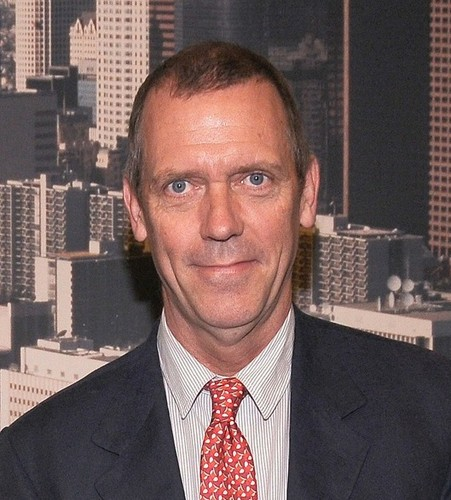 Hugh Laurie at LA City Council promoting local tv production -16.5.2012
