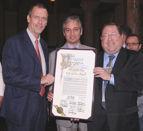 Hugh Laurie at LA City Council promoting local Tv Production -16.05.2012- HQ