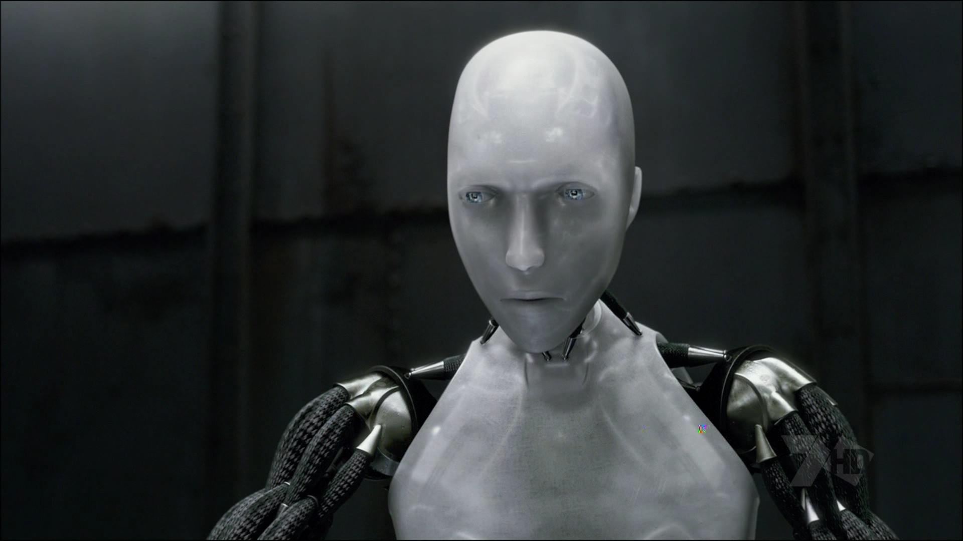 A scene from the film I Robot
