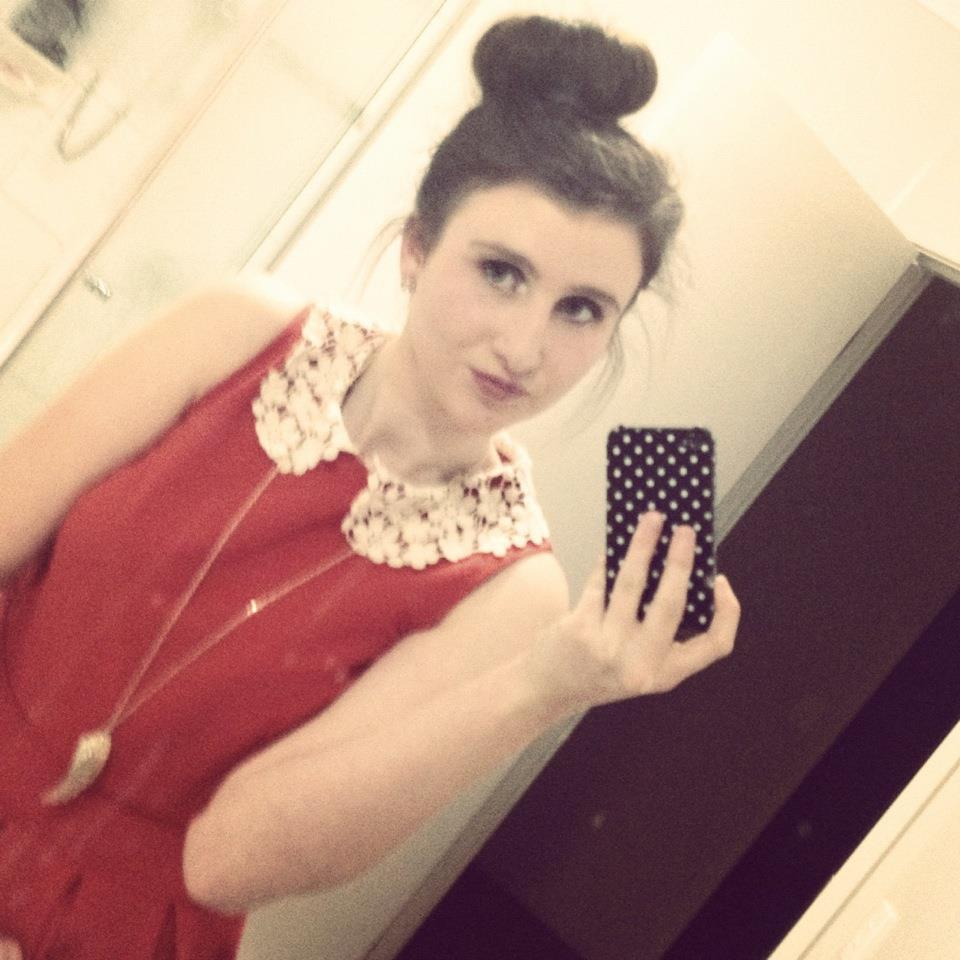 I LEANT HOW TO DO THE DONUT BUN :)