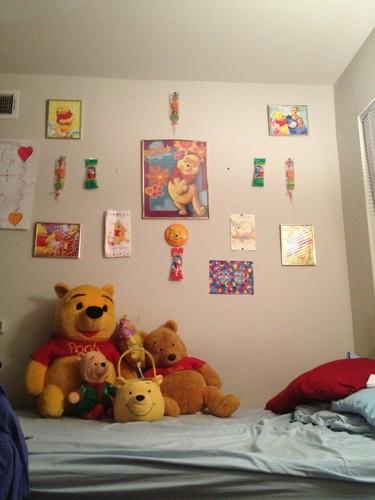 I cinta WINNIE THE POOH MY ROOM
