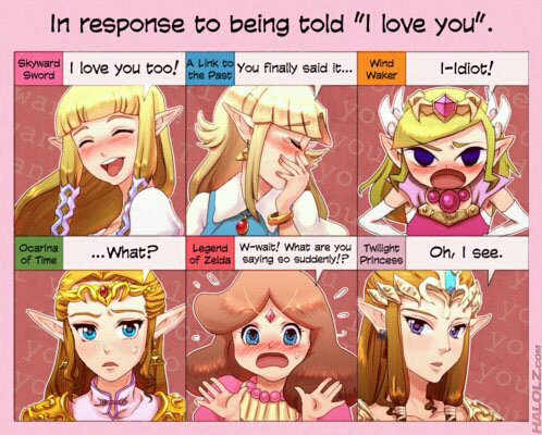 The Legend of Zelda wallpaper called I love you