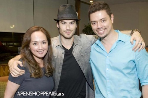 Ian Somerhalder in the Philippines (May,2012)