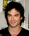 Ian Somerhalder's charming smile and kicks