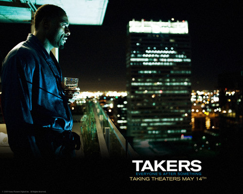 Idris Elba in Takers <333