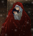 Inuyasha and Kagome - inuyasha-and-ranma-1-2 fan art