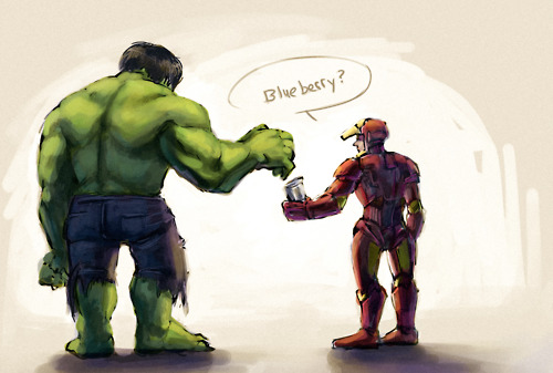 Iron Man & Hulk