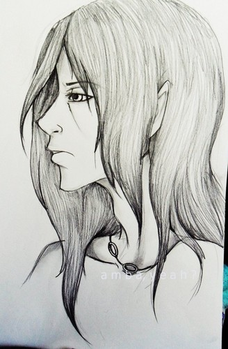 Itachi Sketch - itachi-uchiha Fan Art
