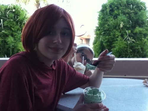 Italy l'amour mint icecream