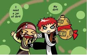 Jack Sparrow with Gaara - naruto-shippuuden Photo