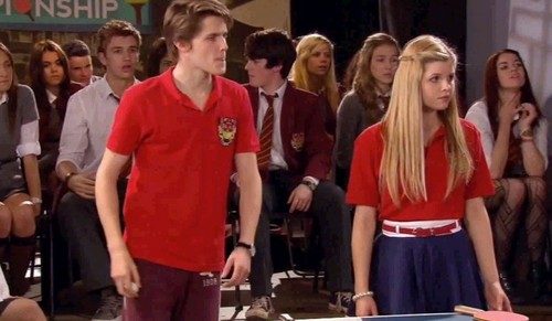 The House of Anubis wallpaper called Jamber at the tennis tournament