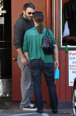 Jen and Ben out and about