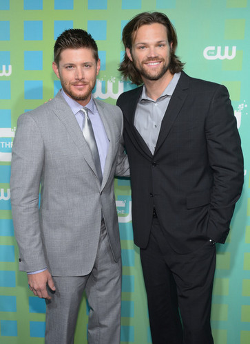 Jensen Ackles & Jared Padalecki: CW Upfront - supernatural Photo