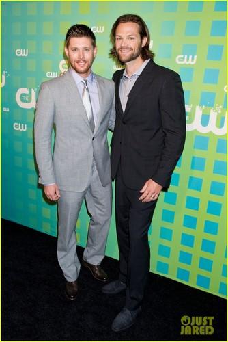 Jensen Ackles & Jared Padalecki: CW Upfront