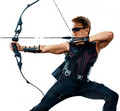 Jeremy as Hawkeye