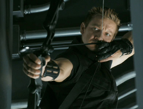 Jeremy as Hawkeye