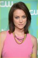 Jessica Stroup @ The CW's Upfront presentation - jessica-stroup photo