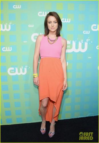 Jessica Stroup @ The CW's Upfront presentation