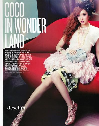 Jessica@ Vogue Girl Magazine June Issue