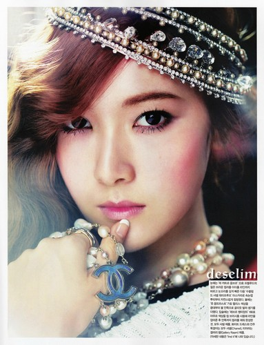 Jessica@ Vogue Girl Magazine June Issue