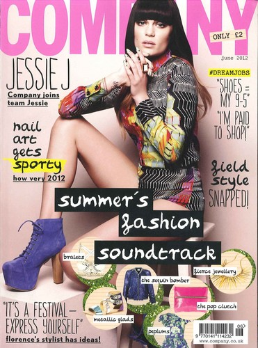 Jessie J Magazine Covers 2012
