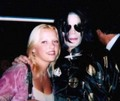 Joanna Thomae and Michael Jackson