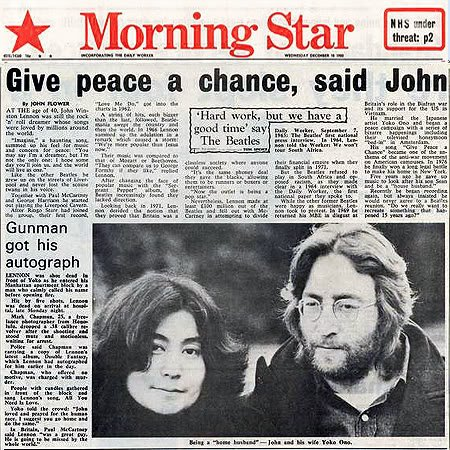 John Lennon Morning ster