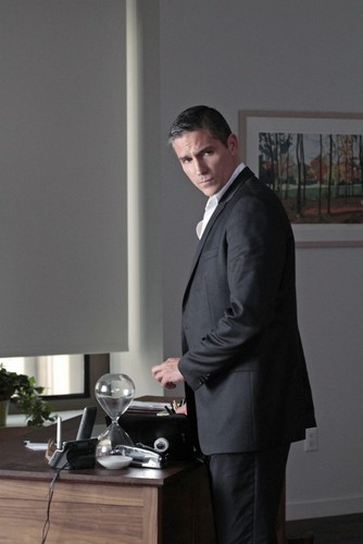 "John Reese kertas dinding with a business suit, a suit, and a well dressed person titled John Reese || 1x23 ""Firewall"""